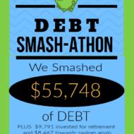Debt Smash-athon SEPTEMBER 2020 Progress Report