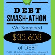 Debt Smash-athon OCTOBER 2020 Progress Report