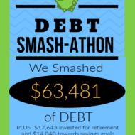 Debt Smash-athon NOV-DEC 2020 Progress Report